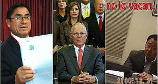 Escándalos de corrupción golpean a los tres poderes del Estado peruano