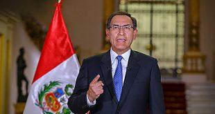 El presidente Martín Vizcarra planteó la cuestión de confianza ante el Congreso