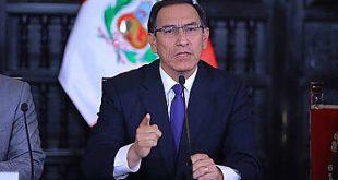 Vizcarra anuncia que Consejo de Ministros aprobó proyecto que declara en emergencia el Ministerio Público