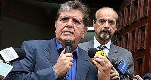 Alan García se disparó cuando era intervenido por detención preliminar
