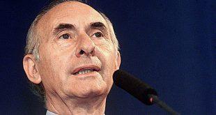 Murió el expresidente argentino Fernando de la Rúa