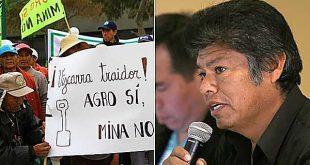 Dirigentes se oponen a Tía María: «Hemos elegido vivir con la agricultura, no con la minera Southern»