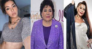 Hija de Alejandra Guzmán pide a actriz Carmen Salinas dejarle ser su hija postiza