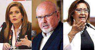 Aráoz, Bruce y Choquehuanca renuncian a la bancada de Peruanos por el Kambio