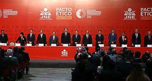 JNE exhorta a partidos políticos a realizar campaña electoral alturada y sin agravios