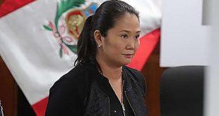 Fiscal Pérez incorpora nuevos elementos a pedido de prisión preventiva contra Keiko Fujimori