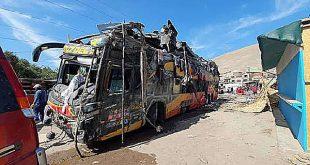Sutran suspende todas las rutas de Cruz del Sur entre Lima y Arequipa