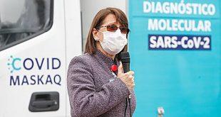 Ministra de Salud: «Pensamos que son entre 43 mil personas que han perdido la vida por COVID-19»
